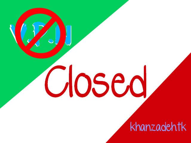 VPN Closed