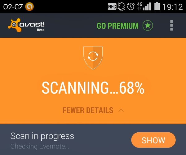 New User Interface Avast Android